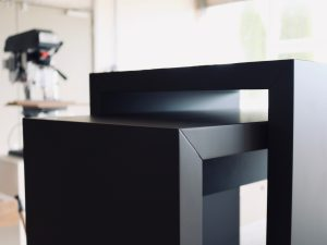 Holzfabrik48° Beistelltische schwarzbraun
